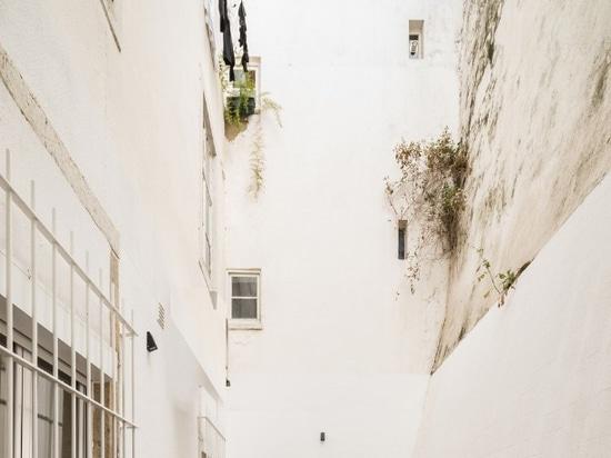Un appartement à Lisbonne entre le passé et présent