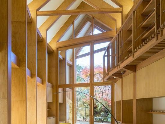 maison shishi-AIB : un hôtel de boutique par interdiction de shigeru ouvre ses portes dans karuizawa