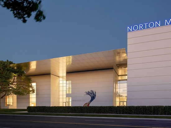 adoptif + les associés debuts sa transformation du Musée d'Art de norton dans West Palm Beach
