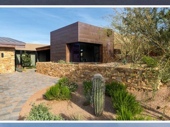 La résidence peinte de ciel par la conception de Kendle de collaboration