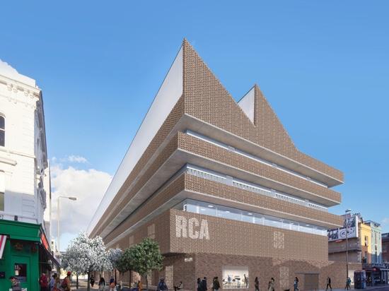 Le Royal College de l'art à Londres annonce que bâtiment de Herzog & de Meuron et campus de Kensington régénèrent