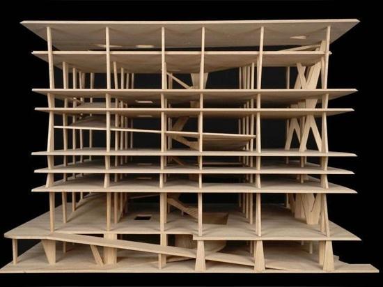 Collection de cadeaux de Herzog & de Meuron de croquis et de modèles architecturaux à MoMA