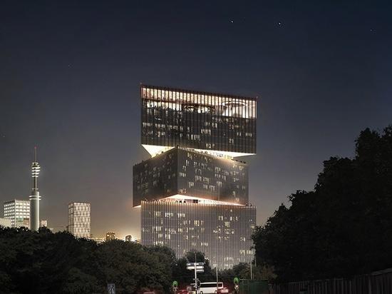 OMA/dessus d'hôtel Nhow Amsterdam RAI de Reinier de graaf's