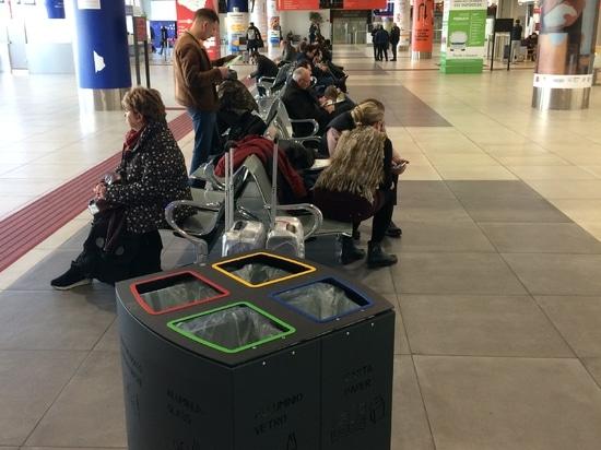 Poubelle de Windows à l'aéroport Falcone et Borsellino