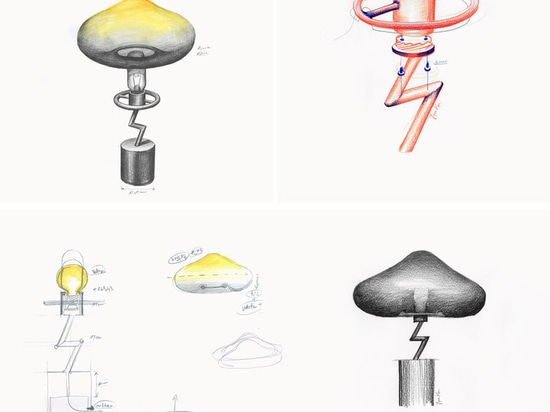 Lampe de Jinyoun Kim Has Designed The Lightning