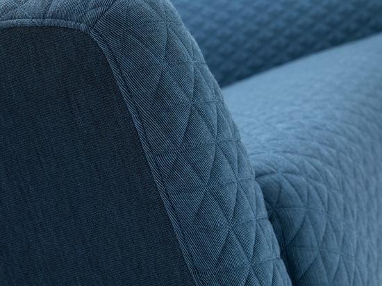 Les textiles piqués couvrent les allocations des places modernes