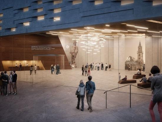 Snøhetta propose le musée se développant en spirales de sommet de montagne pour «Ötzi l'Iceman»