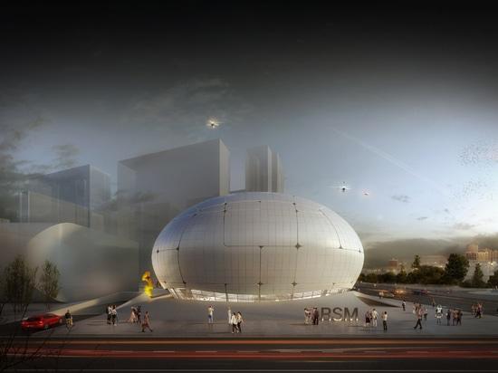 Le musée de la Science de robot à Séoul sera construit par des robots et des bourdons