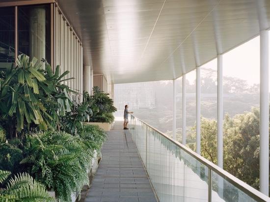 L'université nationale du bâtiment du SDE4 de Singapour est un prototype de conception viable