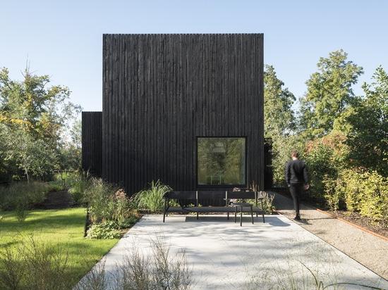 Architectes maison/i29 + Chris Collaris intérieurs minuscules de vacances