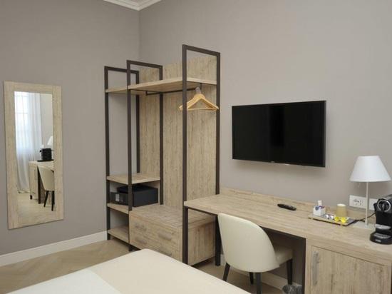 Mobilspazio a meublé Bergamo Inn 43 avec les meubles de la nouvelle ligne URBAN