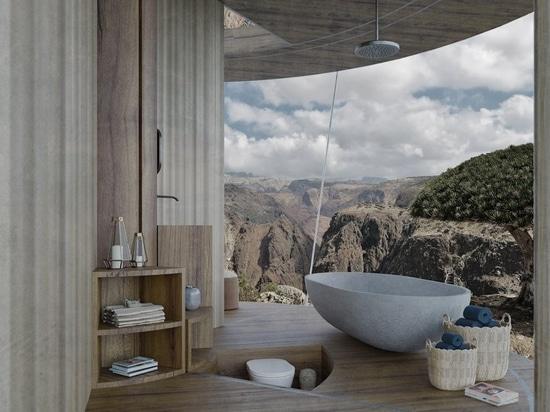 pour être présenté à la semaine de conception de Milan, l'ojalá de maison offre un monde de choix infini