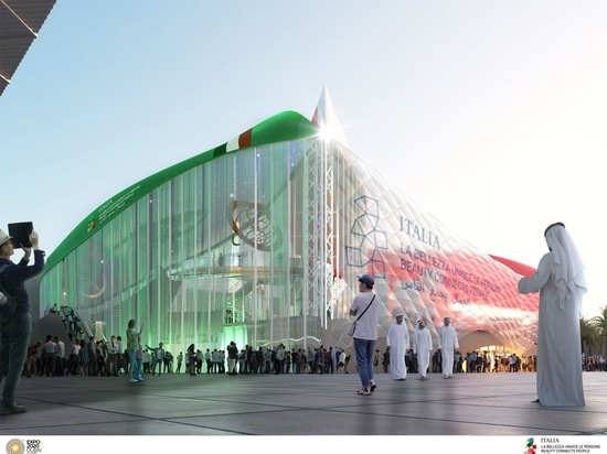 CRA-Carlo Ratti Associati, Italo Rota Building Office, Matteo Gatto & Associati et F&M Ingegneria remportent le concours pour le pavillon italien de l'Expo Dubaï 2020