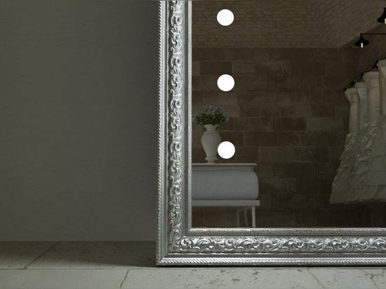 Miroir lumineux Unica cadre de luxe