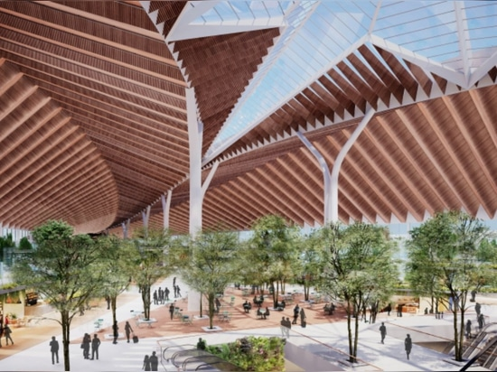 Jeanne Gang-led Studio ORD remporte le concours Nouveau terminal global à O'Hare