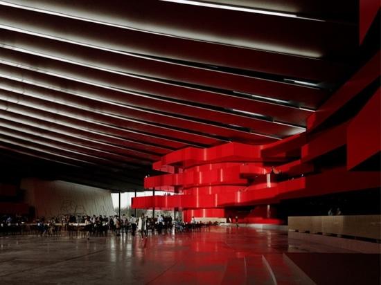 Snøhetta est chargé de la conception du Grand Opéra de Shanghai