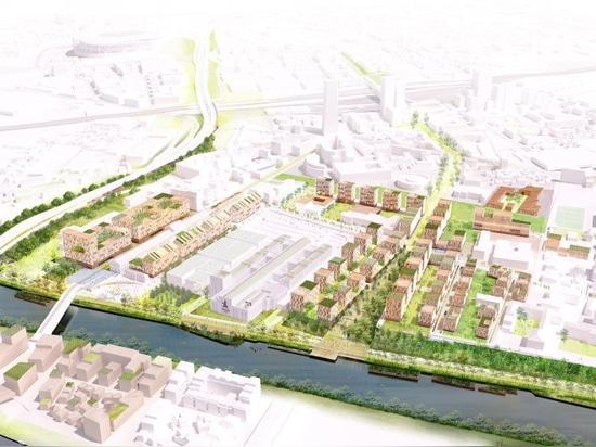 dominique perrault projette un village d'athlètes pour les jeux olympiques de paris 2024