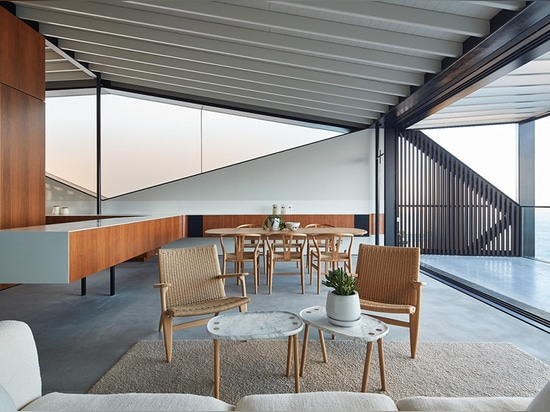 Coogee House offre l'intimité en plein air