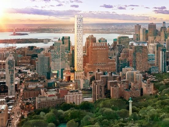 Brooklyn Point par Kohn Pedersen Fox Fox Tops Out