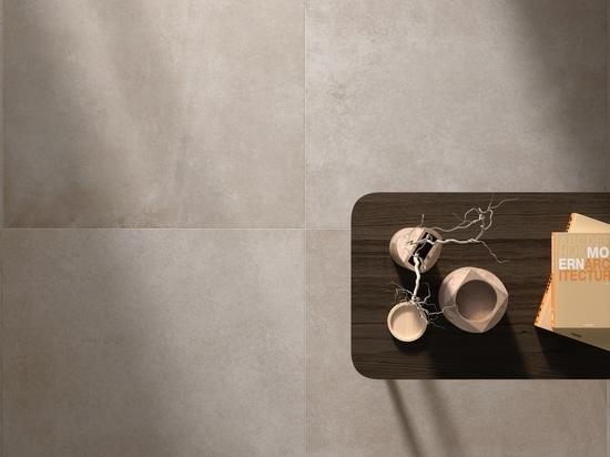 L'audace et la modernité du grès cérame effet ciment