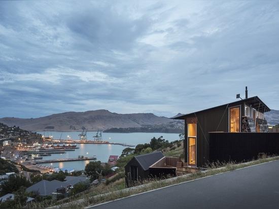 Cette retraite côtière néo-zélandaise est un mélange d'affaires et de plaisir