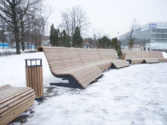 Superficie du pavillon 57 au VDNKh, Moscou
