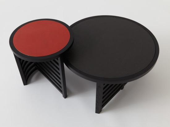 Tables Pastille Minimaliste de Vonnegut Kraft avec Natalie Weinberger