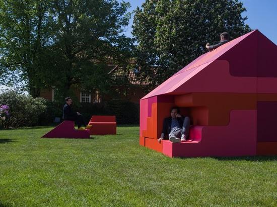 Bjarke Ingels et Simon Frommenwiler construisent une maison de puzzle à Copenhague