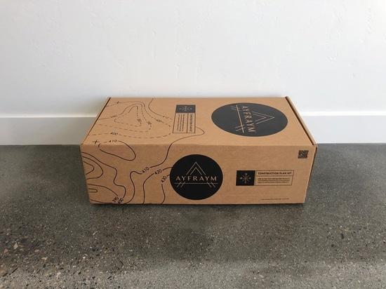 """AYFRAYM est un concept """" cabine dans une boîte """" de cadre en A abordable"""