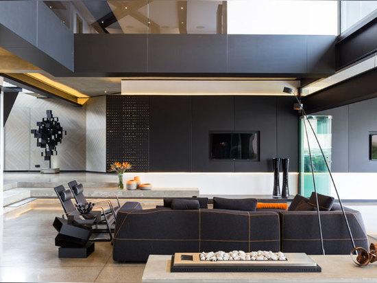 l'espace communal de double taille mélange sans couture la cuisine, la vie, le porche et le lanai ensemble