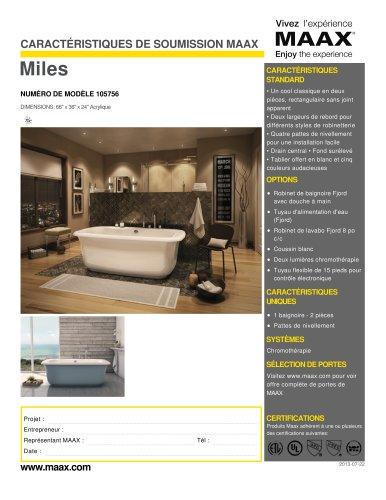 Miles - MAAX bathroom - Catalogue PDF | Documentation | Brochure