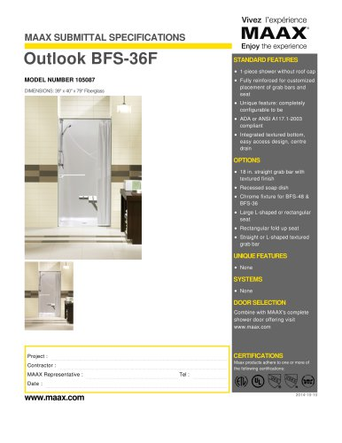 Outlook BFS-36F