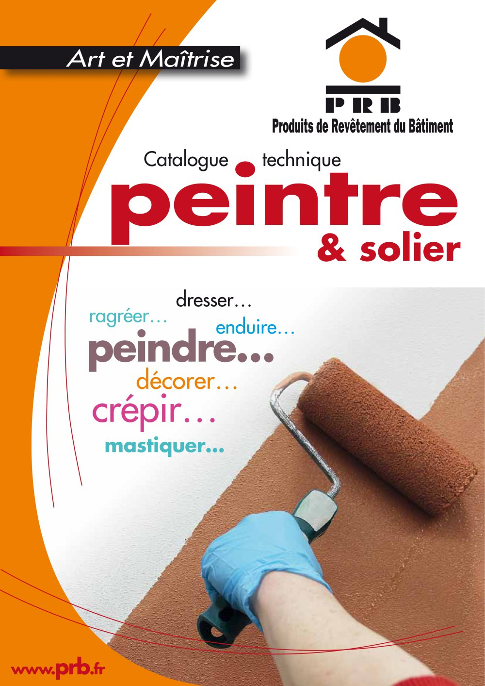 Catalogue Peinture peintre et solier - prb - catalogue pdf | documentation | brochure