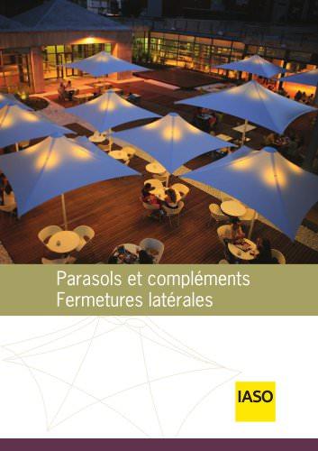 Parasols et compléments Fermentures latérals