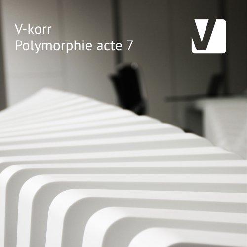 Book #7 - Polymorphie V-korr