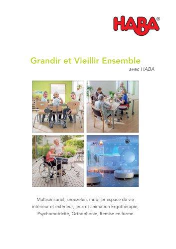 HABA Grandir et vieillir Ensemble - snoezelen