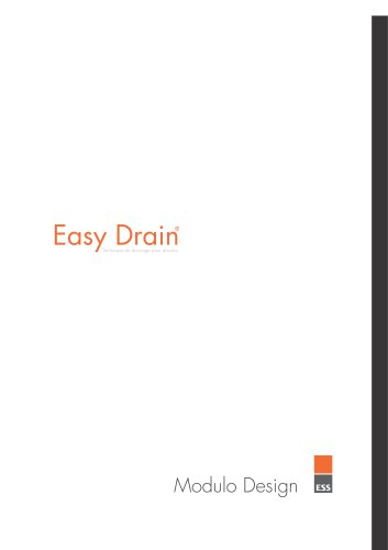 Easy Drain Modulo Design