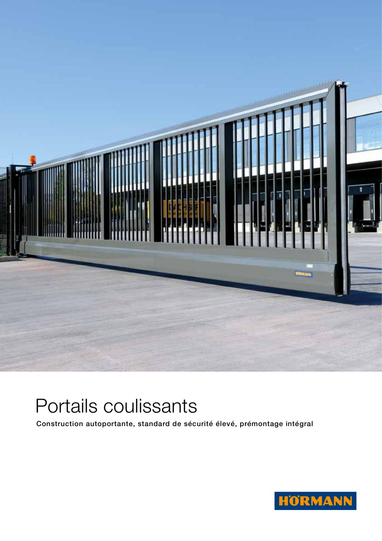 Portails Coulissants Hormann Catalogue Pdf Documentation