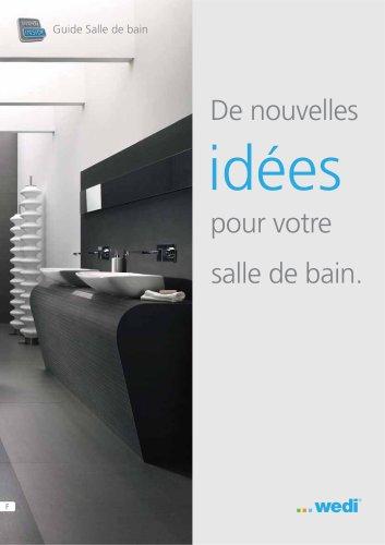 Guide Salle de bain - De nouvelles idées pour votre salle de bain