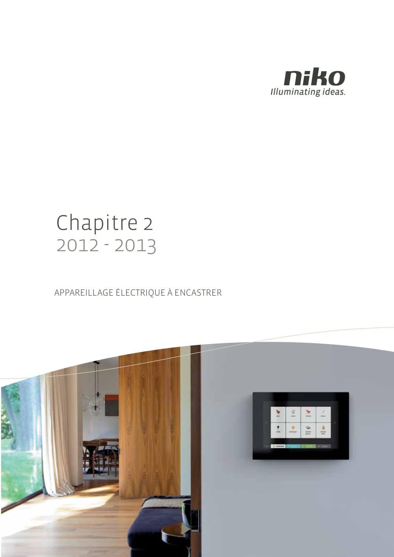 Appareillage électrique à encastrer - Niko - Catalogue PDF ...
