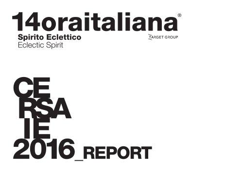 Report Cersaie 2016
