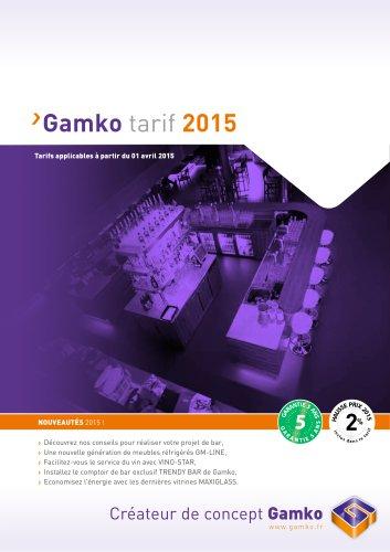 GAMKO Tarif 2015