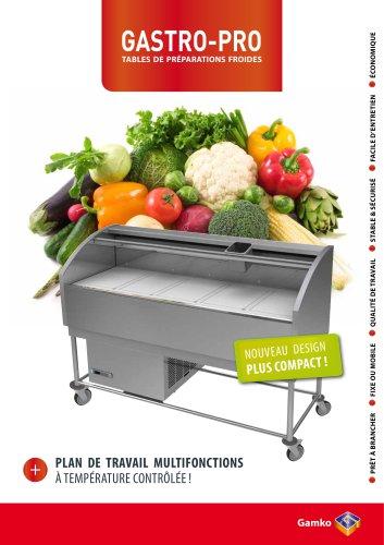Gastro-Pro tables de préparations froides