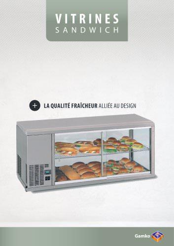 Vitrines sandwich