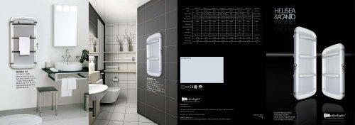 Catalogue 2010 Towel rails ACANTO HELISEA Radialight