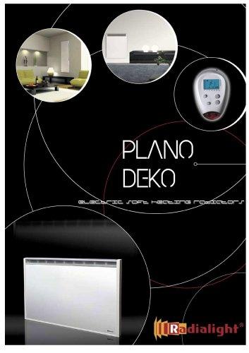 Chauffage èlectrique PLANO et DEKO: Radiateurs à chaleur douce et continue