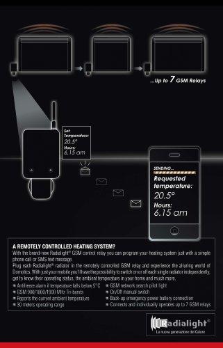 RADIALIGHT Gsm remote control