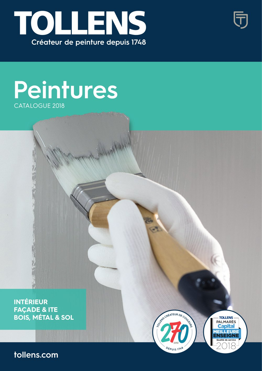 Catalogue Peinture catalogue peinture - tollens - catalogue pdf | documentation | brochure