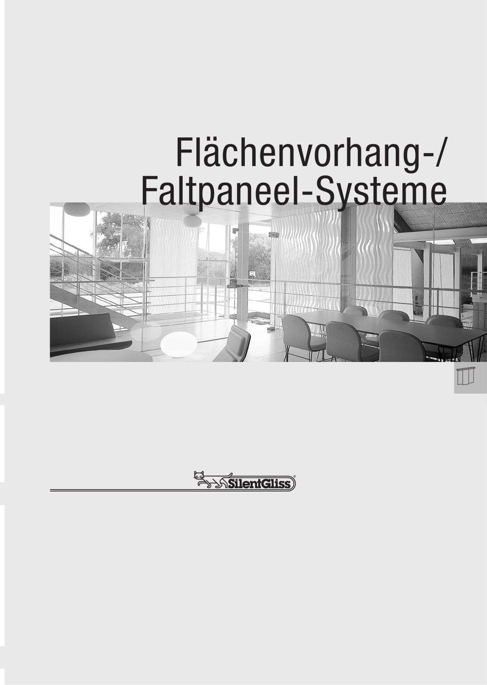 flächenvorhang-/ faltpaneel-systeme - silent gliss international