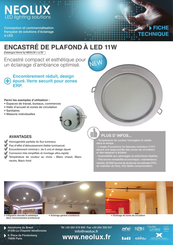 avantage eclairage led